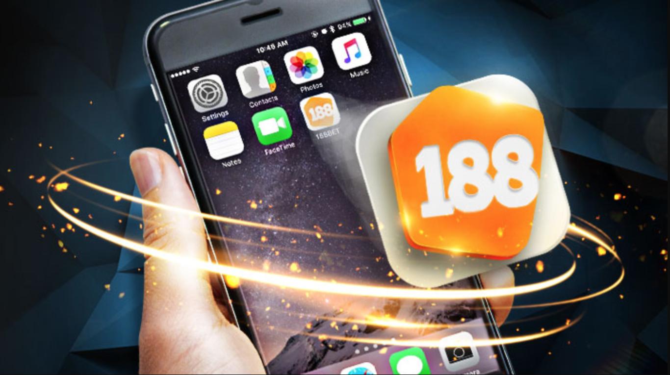 Registro através aplicação móvel 188Bet
