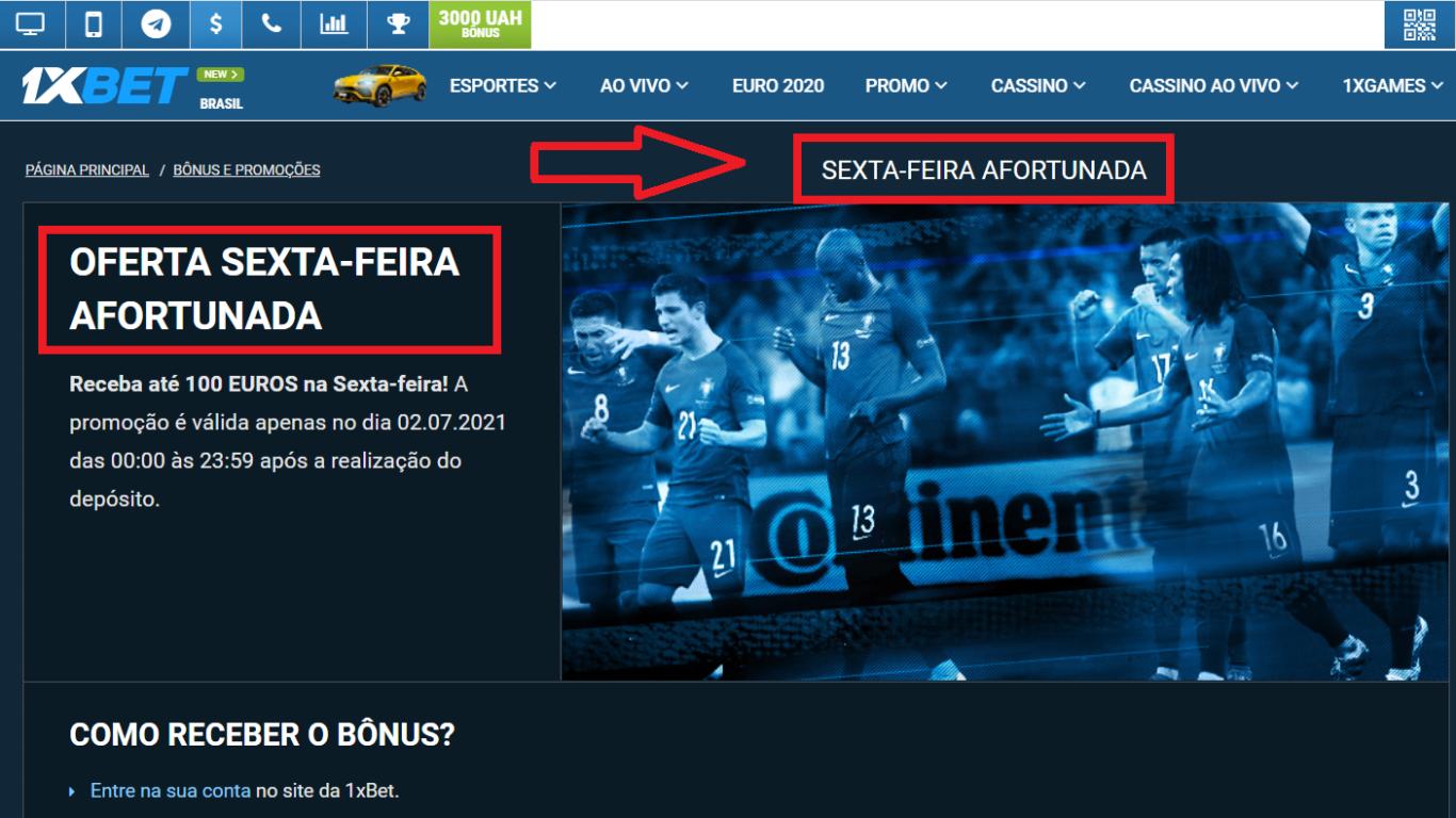 1xBet sport transmissão em Brasil